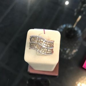10k rose gold ring